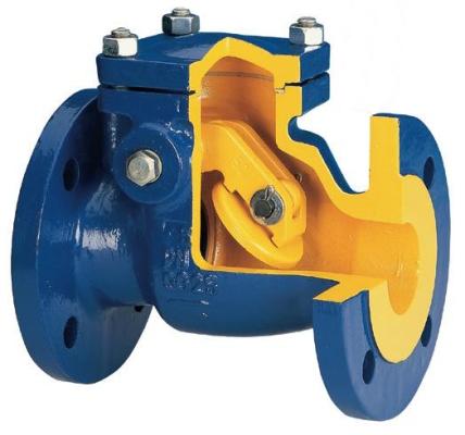 Клапан запорный фланцевый zetkama dn250 (сальник)